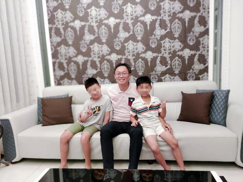 小樂投資有成,去年5月帶著一家四口入住新買的透天厝。