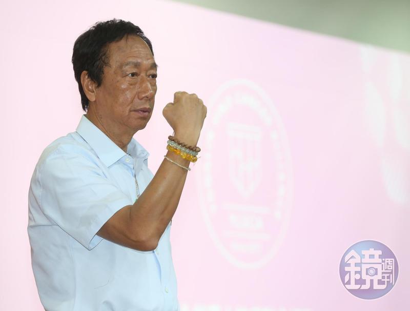 郭柯王會面破局,郭台銘發臉書表示「政治不是分贓,更不是權位保衛戰」。