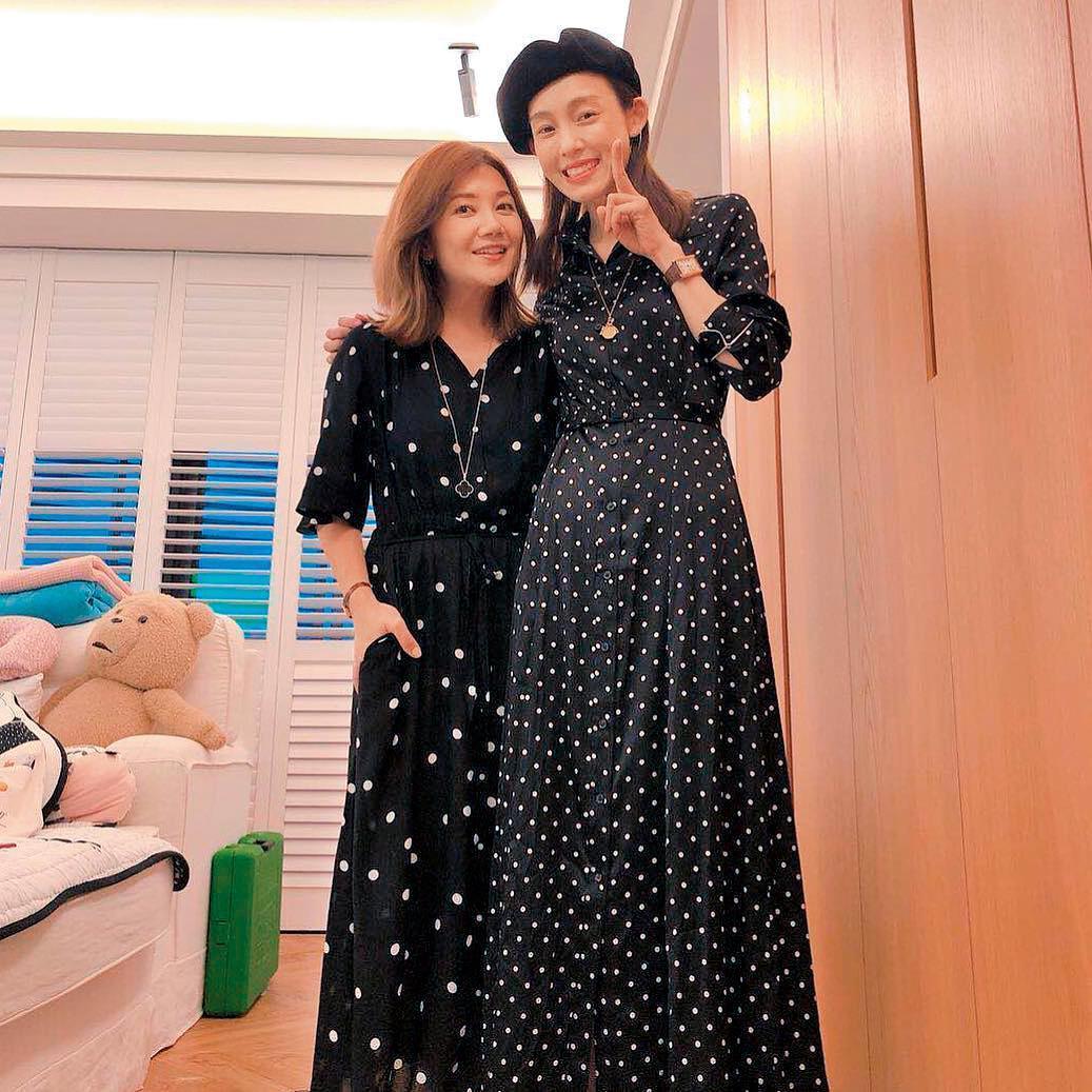 梁靜茹傳出與趙元同離婚,閨密范瑋琪(右)在第一時刻透露2年前已知此事。(翻攝自梁靜茹IG)