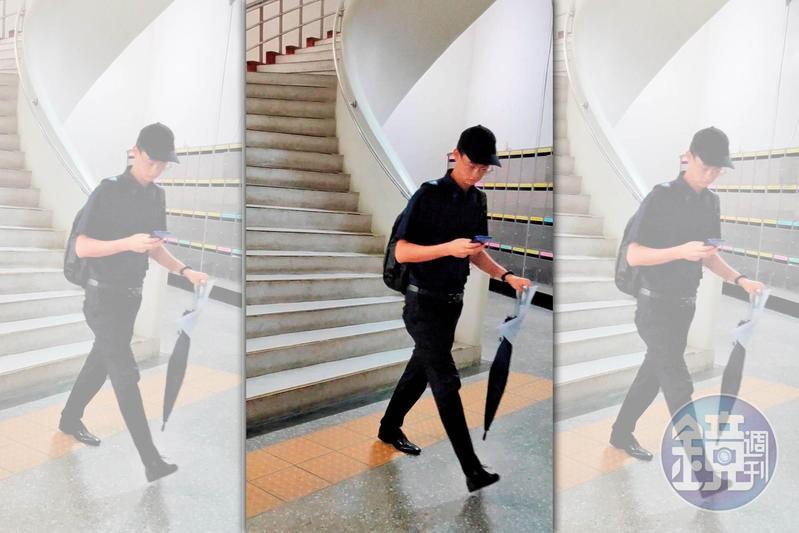 年紀輕輕的楊正(圖)今年研究所畢業後,已開始在僑光科大任教。