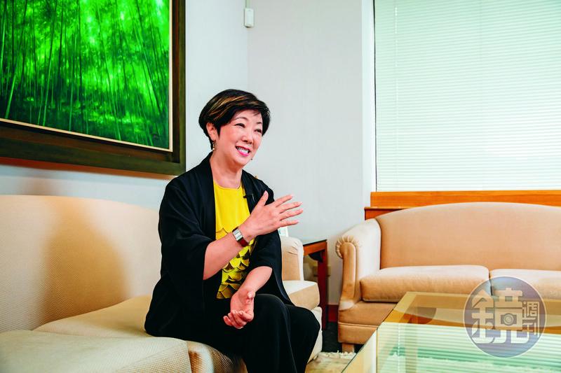 張淑芬說張忠謀是世界上最好的老公,儘管她忙著做公益,卻從無怨言。