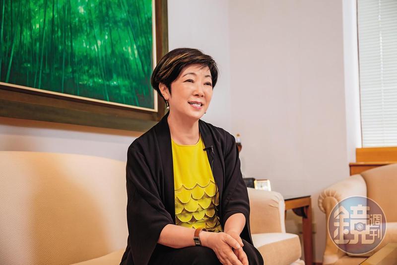 張淑芬受訪時表示,支持她做公益的動力是要把福報分享出去。