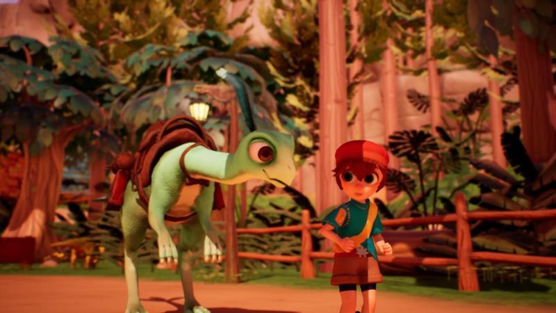 和恐龍一起暢遊冒險 RPG(圖片來源:遊戲實機畫面)