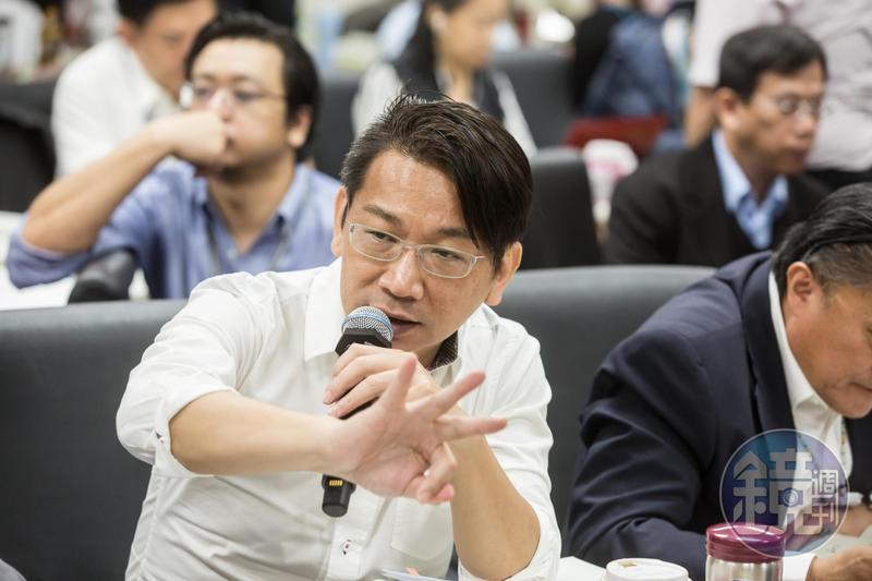 時代力量立委徐永明接任新任黨主席。