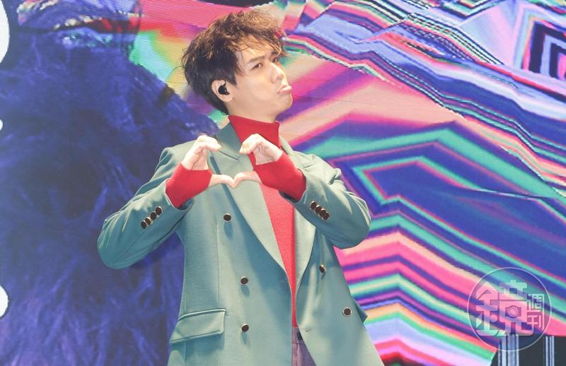 蔡旻佑宣佈加盟何樂音樂,並推出新專輯《變心記》。