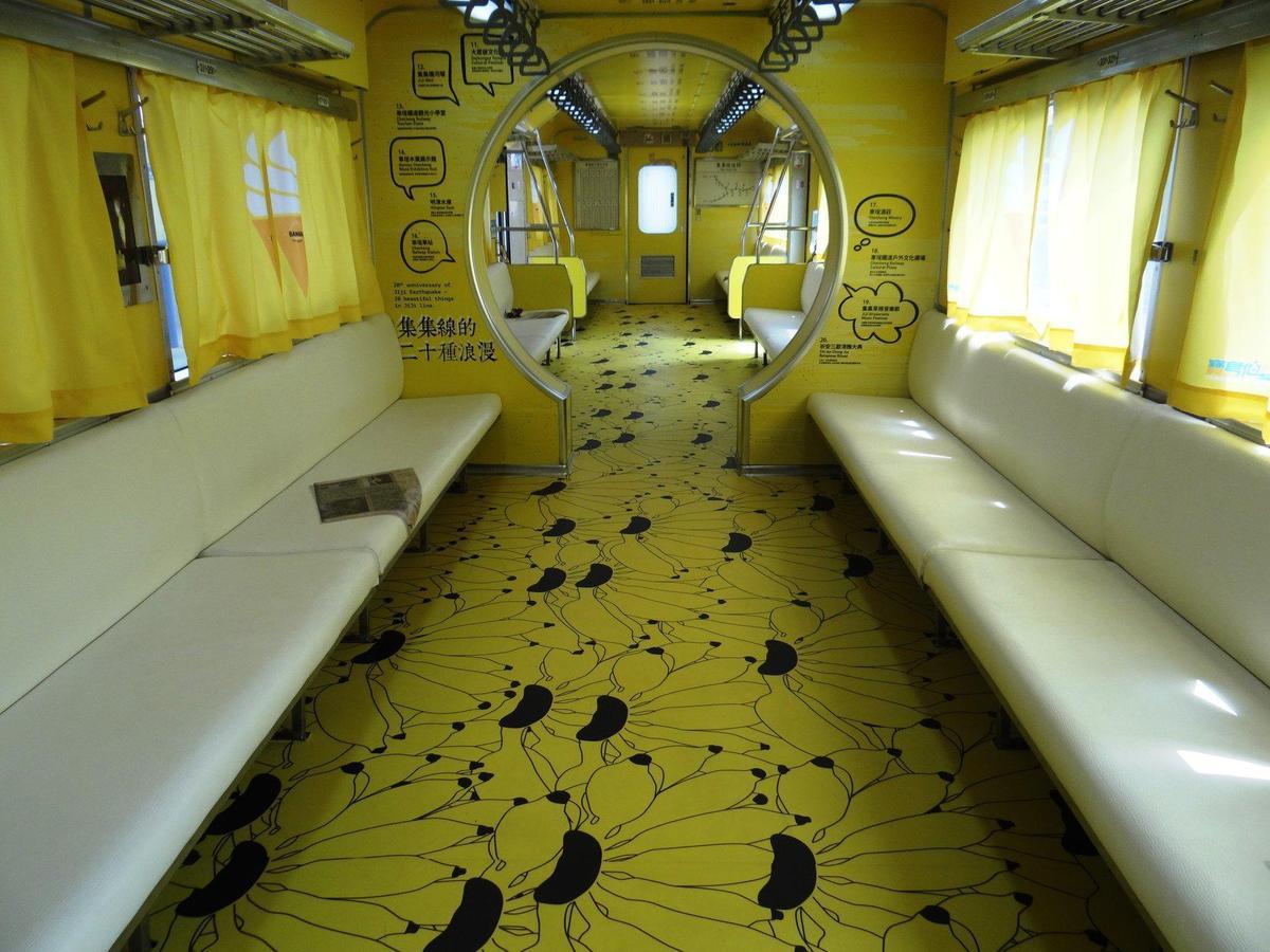 觀光局表示,未來車廂內部設計會再調整。(翻攝fun臺鐵臉書)