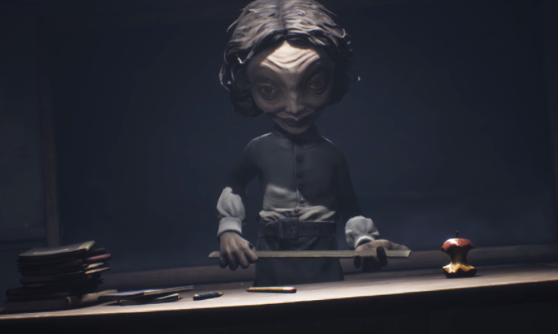 《小小夢靨2》將於2020年上市,恐怖氛圍不下於第一代。(翻攝Little Nightmares II遊戲預告)