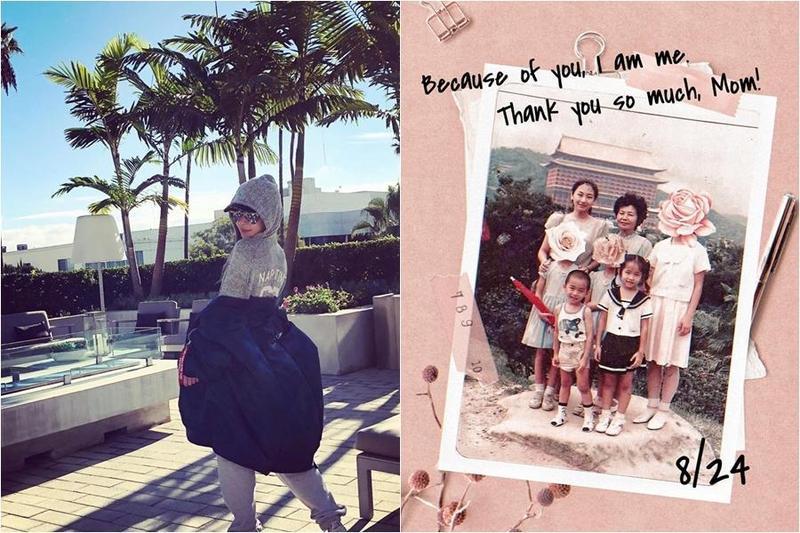 Elva蕭亞軒在40歲生日前夕,發文抒發近期心境,難忘媽媽的愛,並感謝媽媽成就了自己。(翻攝自Elva臉書)