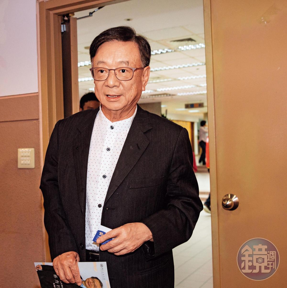力勸郭台銘參選的其好友宣明智(圖),近日已著手開發手機連署APP,要替郭衝刺連署。