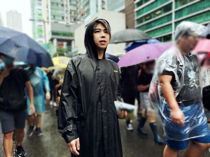 阮民安多次上街力挺反送中,對於中國網友揚言封殺,他強硬表態不低頭。(翻攝阮民安臉書)