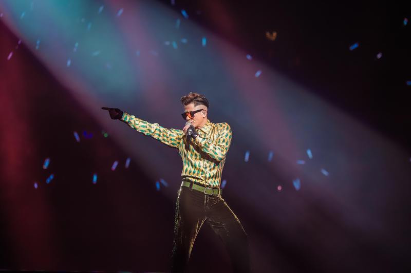 郭富城《舞林密碼》ㄏ巡演將在9月13、14日在台北小巨蛋登場。(開麗娛樂提供)
