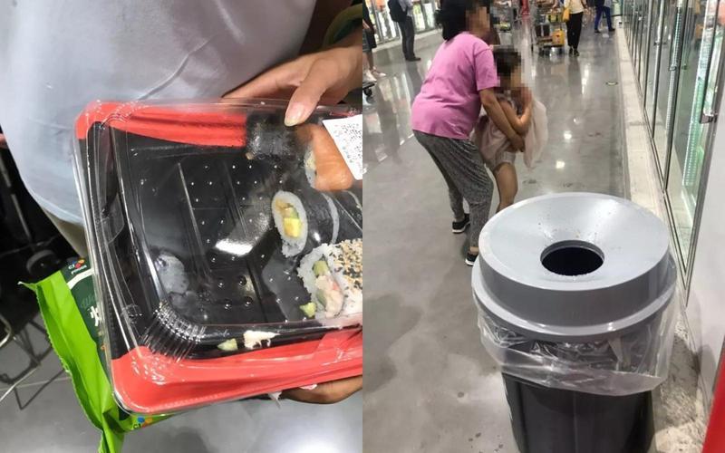 美式賣場Costco進軍中國出亂象,民眾被爆偷吃食材還亂便溺。(翻攝自董小姐康樂微博)