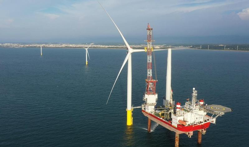 沃旭是台灣最大離岸風電開發商,將本週六於就業博覽會上徵才。(番社沃旭能源臉書)