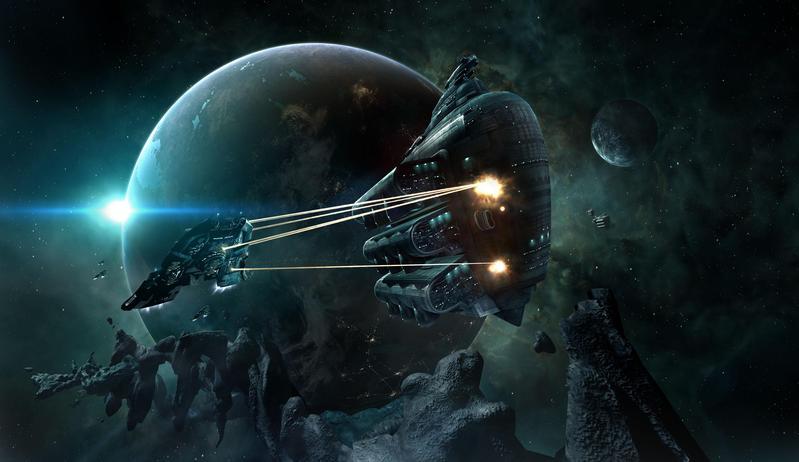 冰島遊戲公司開發的《星戰前夜》,提供真實的市場交易機制。(東方IC)