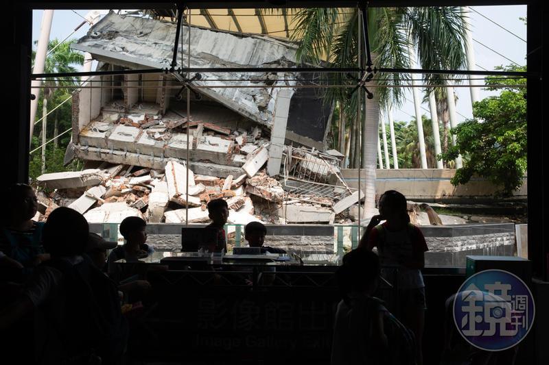 921地震將屆滿20年,中央氣象局預定9月20日上午9時21分發布地震模擬演習簡訊,圖為921地震園區。
