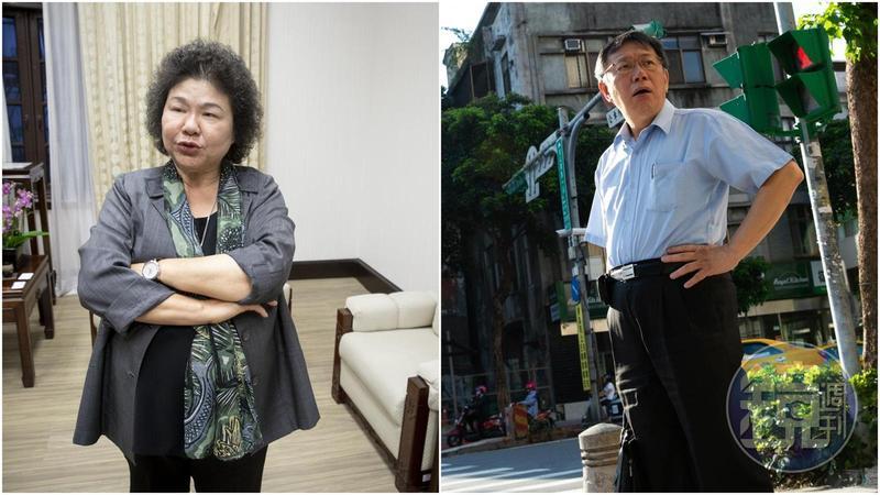 被新潮流激到,柯文哲回擊「陳菊是比較肥的韓國瑜」引發譁然。
