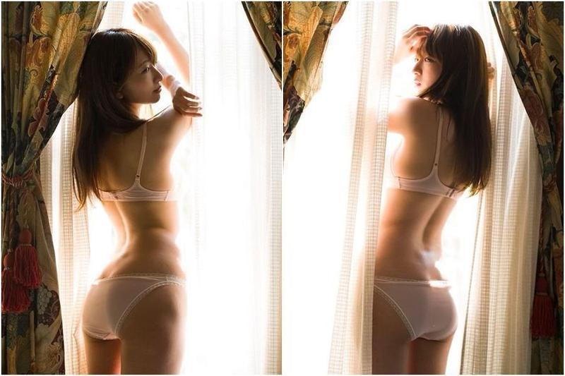 日本女星羽田優里奈應邀拍攝火辣寫真,不吝展現曲線完美的身材。(翻攝自羽田優里奈IG)