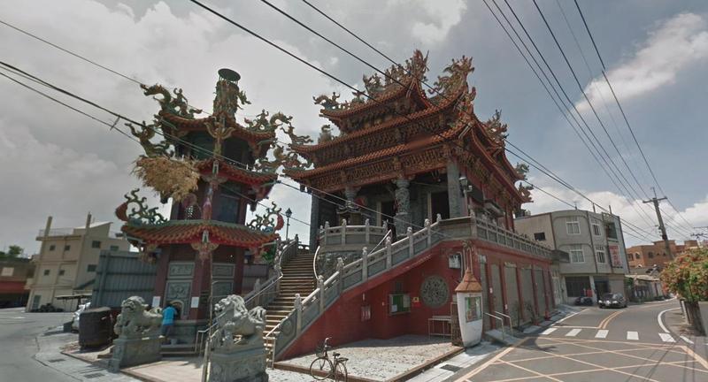 位在彰化縣埔鹽鄉的順澤宮,廟中供奉玄天上帝,是當地民眾的信仰中心。(翻攝自Google Maps)