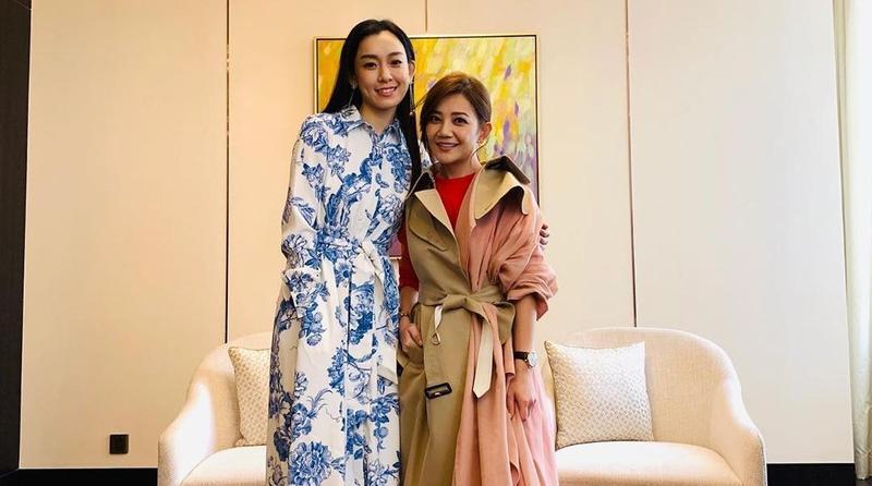 梁靜茹(右)昨日認了簽字離婚,但先前好姐妹范瑋琪(左)先前以「有聽說」,而遭網友砲轟唱衰好友。(翻攝梁靜茹Instagram)