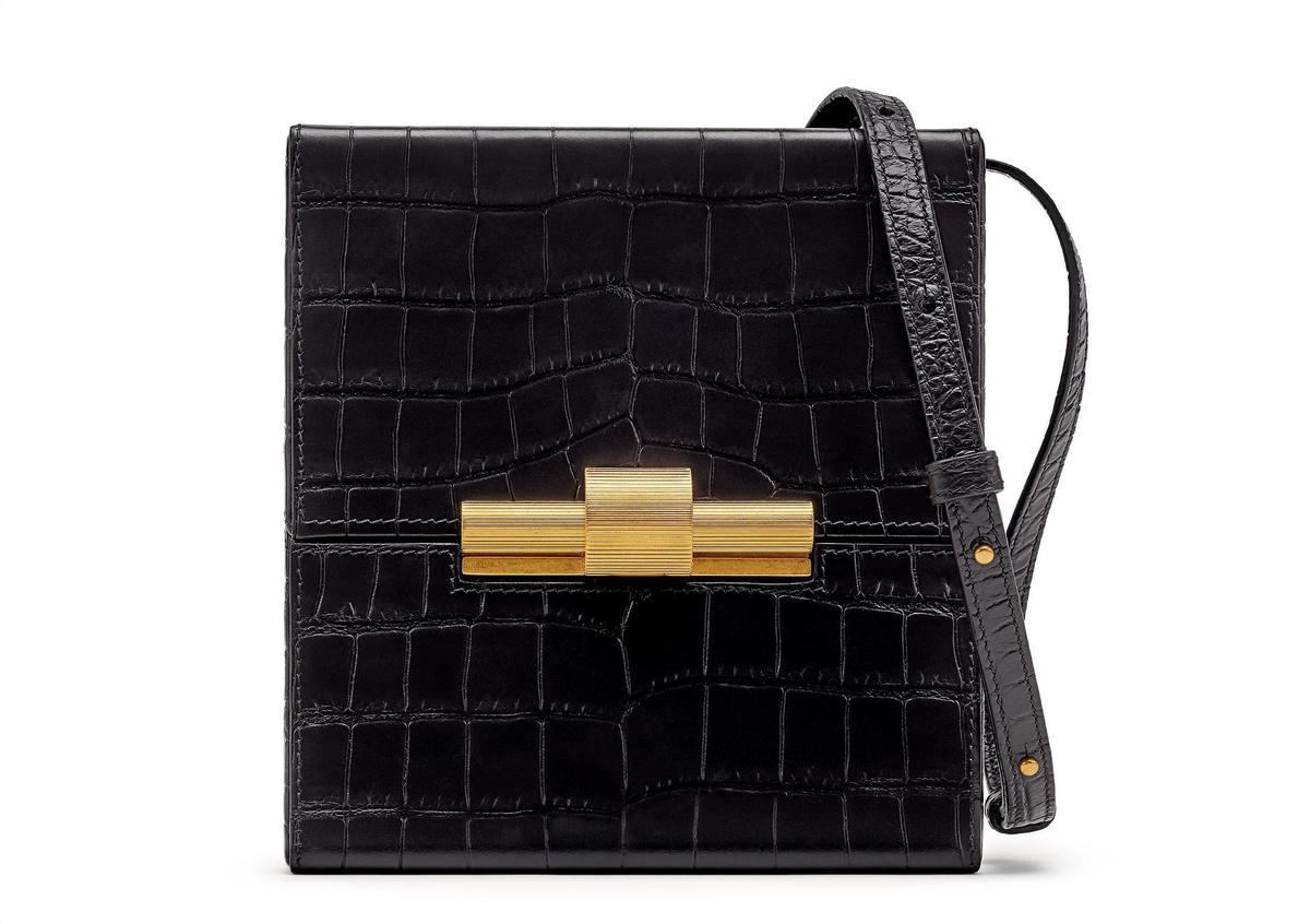 (微風廣場獨家)BOTTEGA VENETA DAISEY壓紋牛皮肩背包,推薦價7萬7,900元。