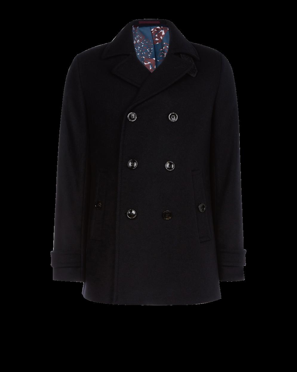(微風廣場)TED BAKER GRILLD羊毛雙排扣大衣(男),原價1萬9,800元、特價8,900元。