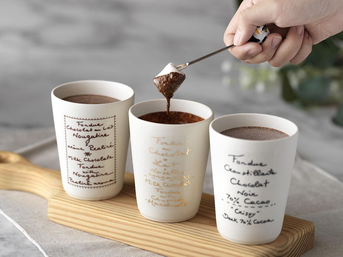 使用Breeze Pay滿額贈法國Chocolate Fondue巧克力。
