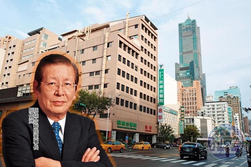 高雄阮綜合醫院是一間擁有73年歷史的知名醫院,阮綜合醫院創辦人三子阮仲洲,是醫院現任董事長。