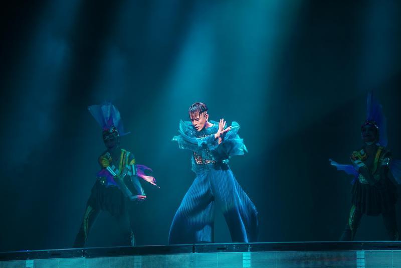 郭富城《舞林密碼》演唱會將於9月13日中秋節在小巨蛋登場。(開麗娛樂提供)
