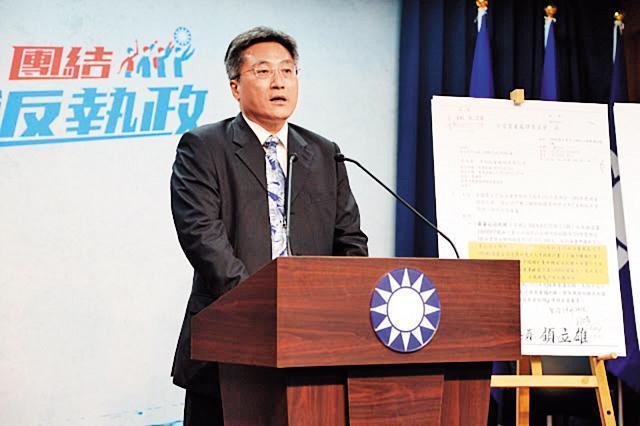 李福軒在藍營內被視為青壯派菁英人物之一,過去多次在媒體上公開發表言論,提醒韓國瑜不要走鐘。(翻攝國民黨官網)