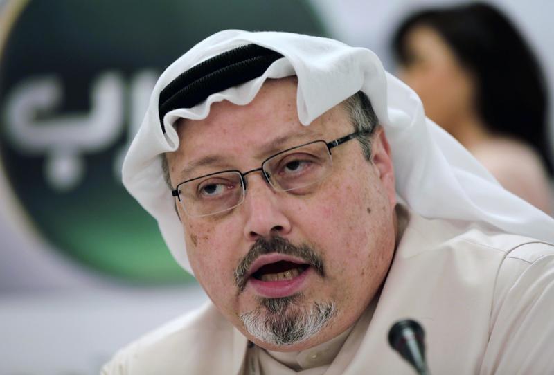 記者哈紹吉去年10月,為辦理再婚事宜進入沙烏地阿拉伯駐土耳其伊斯坦堡領事館,就此人間蒸發。(達志影像)