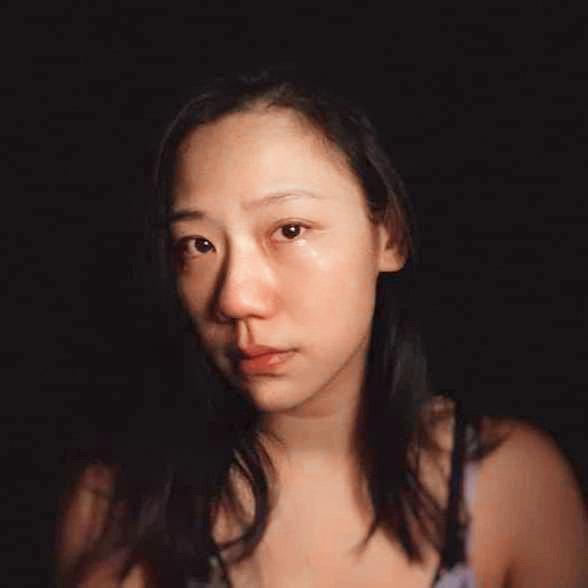 之前馬俊麟的老婆貼出流淚照片,結果慘被網友霸凌長相,她反擊從沒覺得自己漂亮。(翻攝自梁敏婷臉書)