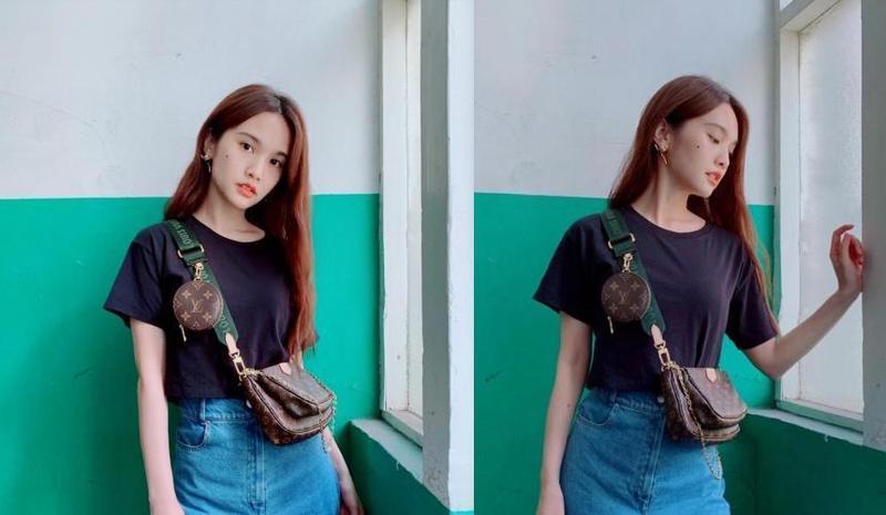 楊丞琳早在一週前即已在個人IG上po出背著LV新包款的照片。(路易威登提供)
