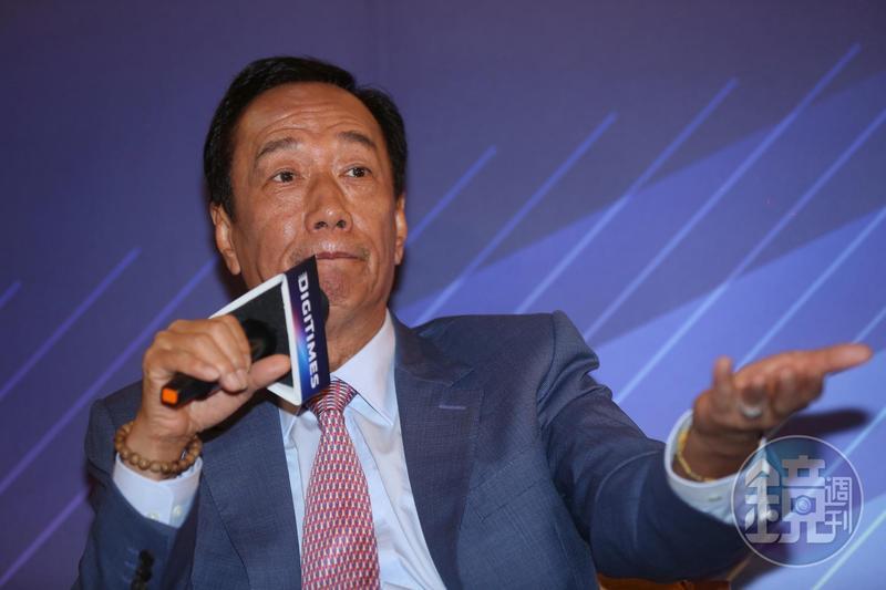 郭台銘遭到國民黨籍律師林憲同提告,郭營表示不回應。
