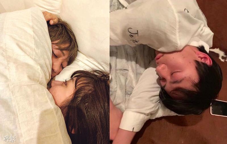 傑尼斯事務所承認這兩張照片確實是HiHi Jets成員橋本涼、作間龍斗本人。(網路圖片)