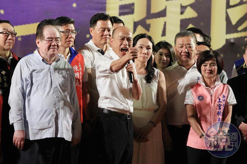 耳聞為何不提名朱立倫、周錫瑋,韓國瑜向國民黨深情喊話「不要再次陷入永遠的後悔」。