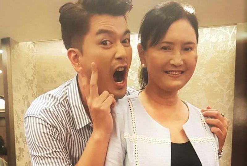 馬惠珍(右)和潘逸安在戲中飾演母子。(艾迪昇傳播提供)