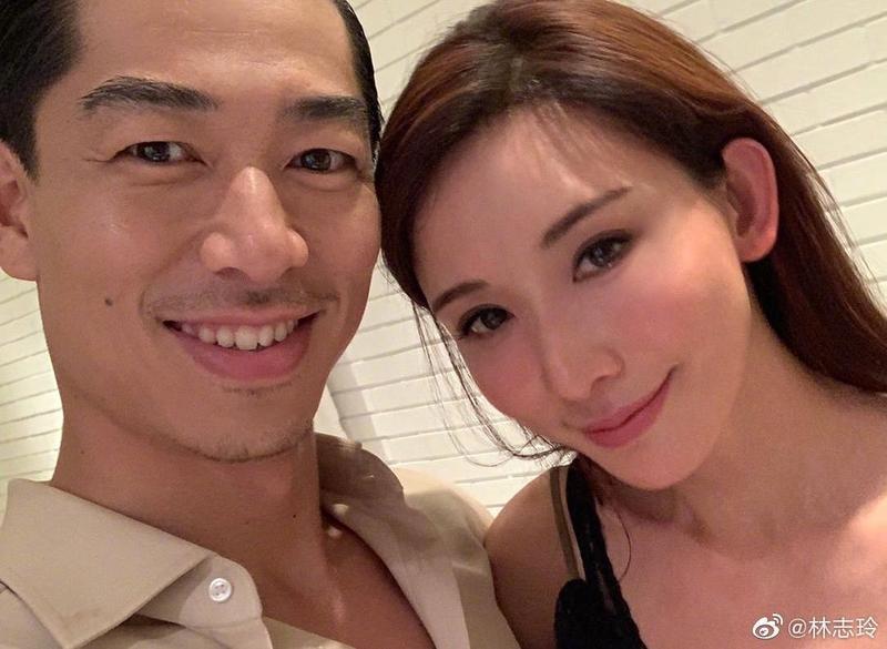 原本要獻出婚後首度公開合體的林志玲與Akira,最後被央視除名,無緣在中秋晚會表演。(林志玲微博)