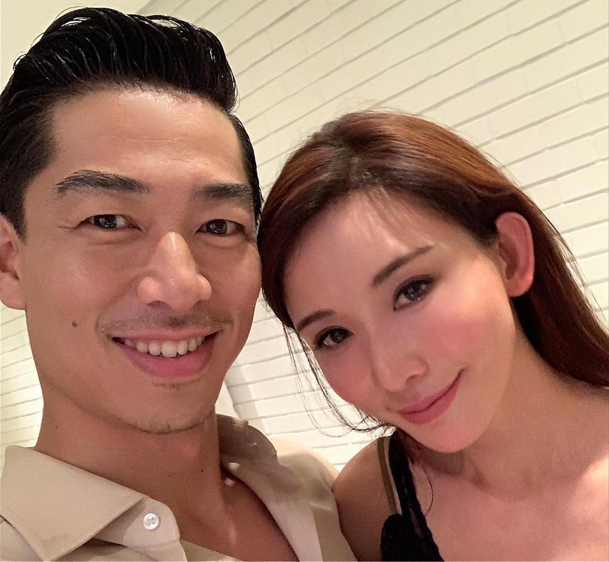 林志玲因為嫁給Akira,讓很多大陸網友抨擊媚日。(翻攝自AKIRA臉書)