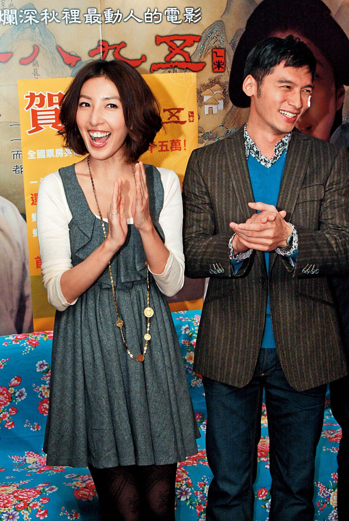 溫昇豪早期曾拍床戲出事,就是跟楊謹華演夫妻、情侶演到翻臉。(東方IC)