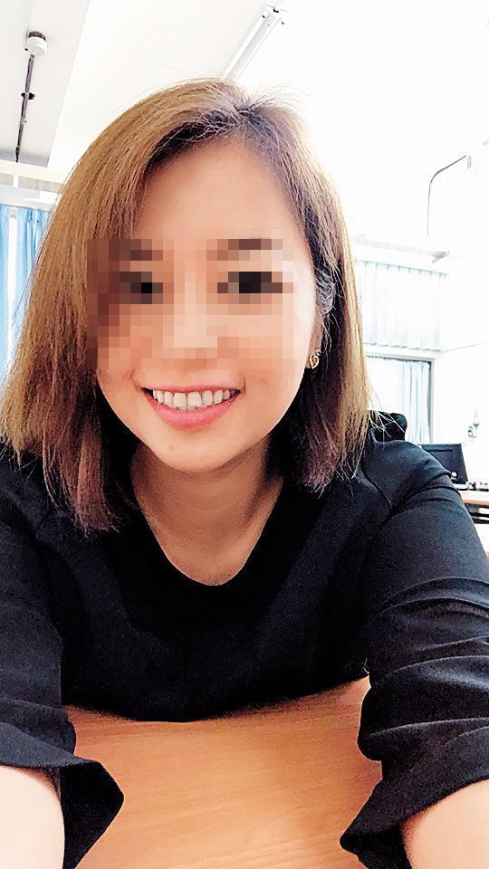 A小姐(圖)的職業是性治療師,外傳她與總統隨扈陳清文已交往3、4年。(翻攝臉書)