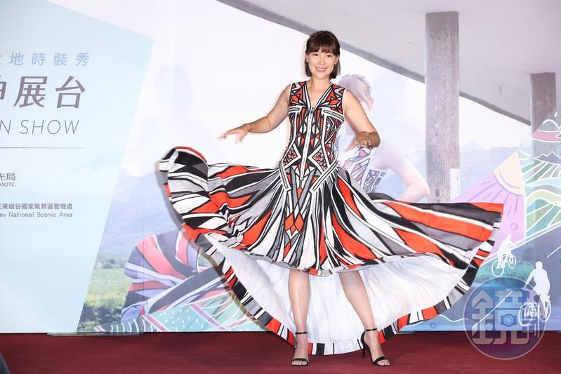 李懿為花東觀光拍攝形象廣告,卻被形容長得很像「暗黑林志玲」波多野結衣。