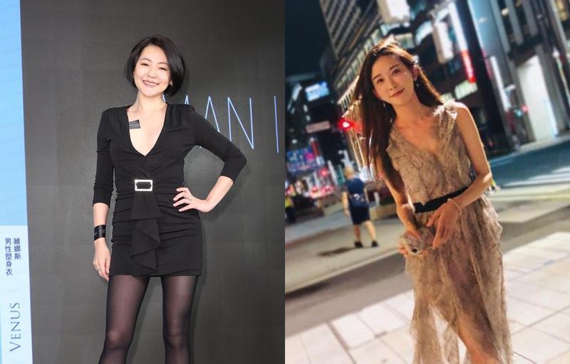小S今(18日)出席塑身衣代言記者會,表示最近完全與林志玲失聯。(左為本刊照片,右翻攝自林志玲IG)