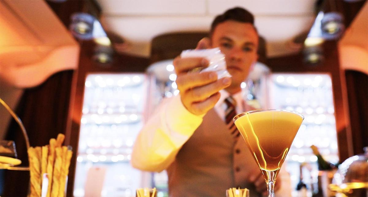 空服員推薦的「Espresso馬丁尼」是一款好喝又不易在空中踩雷的酒款。