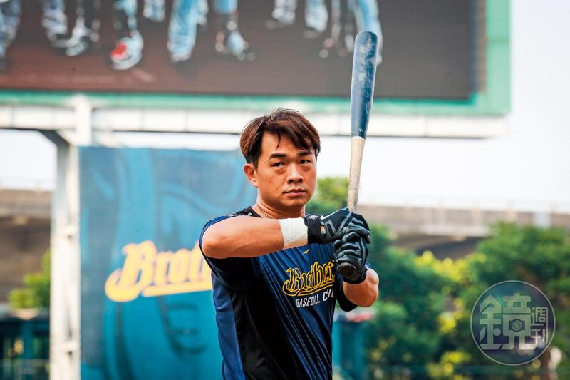 39歲仍去美國學習新的打擊技巧,儘管今年引退,彭政閔仍不懈怠,把自己保持在最佳狀態。
