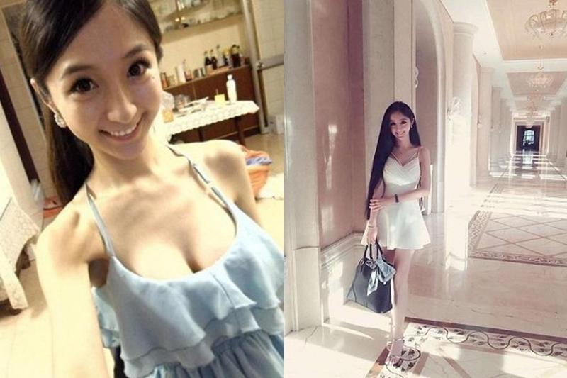 石女曾被PTT表特版封為神級正妹,石女的天使臉孔、魔鬼身材讓許多網友瘋狂。(翻攝石女臉書/翻攝PTT)