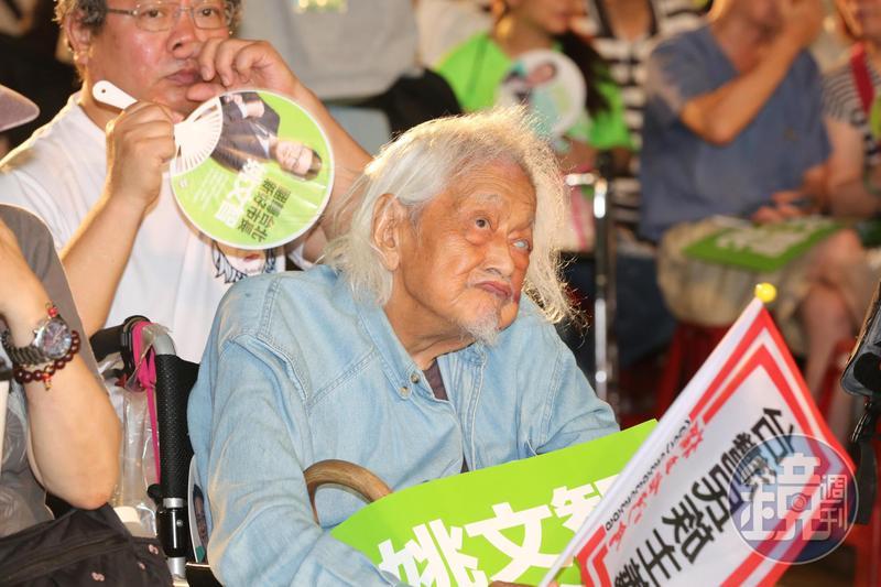 獨派大老史明享壽103歲。民進黨今發出哀悼文。(本刊資料照)