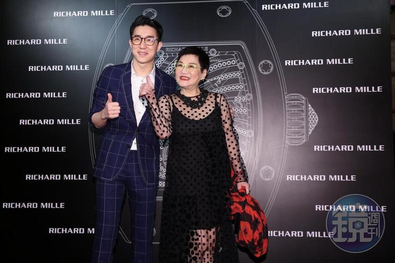 房祖名因為老爸成龍的關係,如今是瑞士名錶Richard Mille亞洲區的董事。