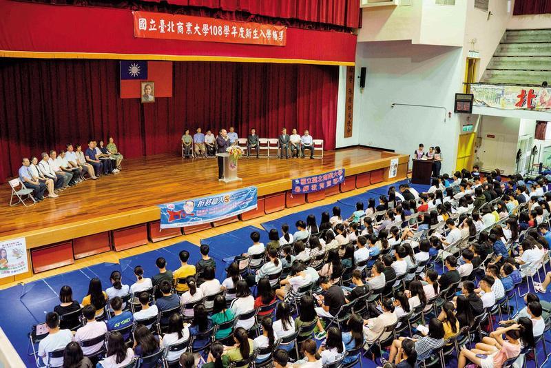 台北商業大學不少師生對張瑞雄的治校作風,怨聲載道。(翻攝台北商業大學臉書)