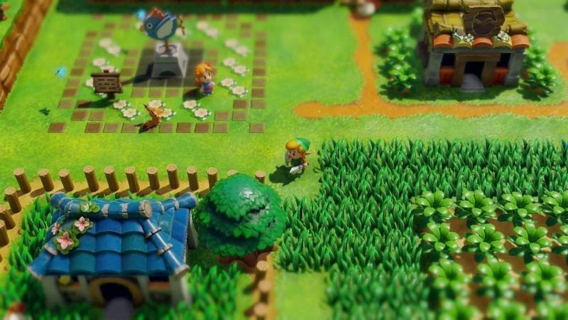 《薩爾達傳說 織夢島》在9月20日發售,這是1993年同名遊戲的重製版作品。(翻攝自任天堂官網)