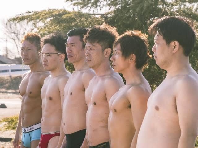 日本AV男優各種體型都有,但只有頂級男優才有資格與大牌女優共演。(翻攝自田淵正浩推特)